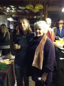Julia Ferrari with Judy Van Wageningen